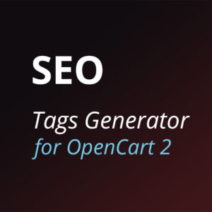 Автогенерация мета тегов OpenCart2